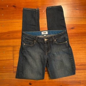 PAIGE Jeans 'Skyline Skinny' Sz 28 EUC